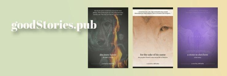goodStories.pub three prophets banner