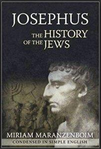 Book Cover; Josephus, The History of the Jews