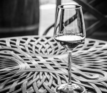 Golan Heights Winery wine glass