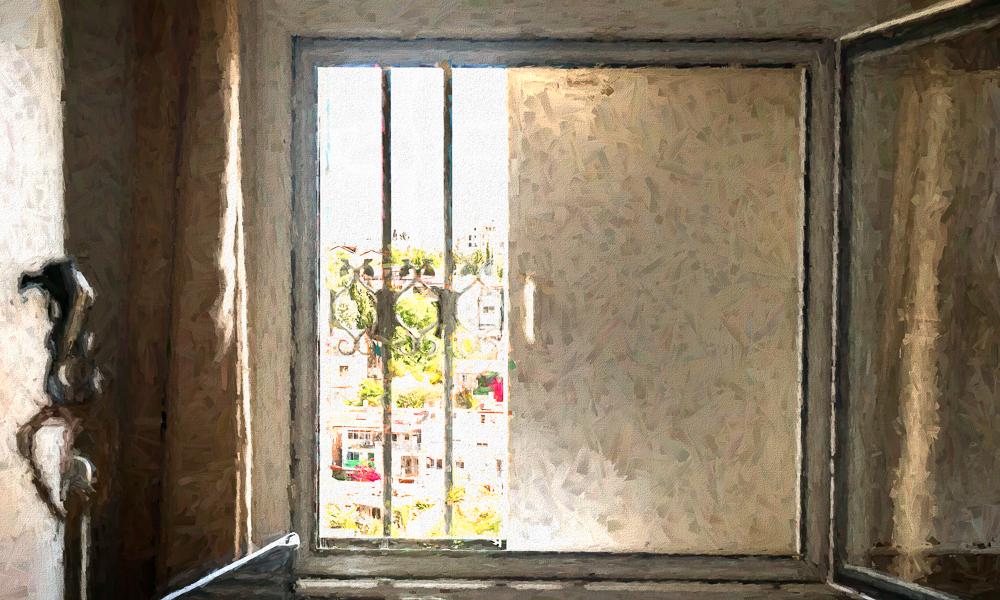 Safe Room Window Steel Panel