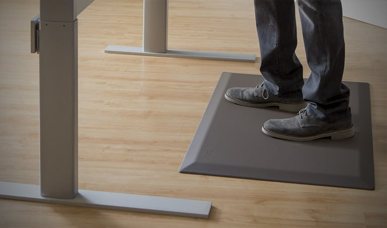 Anti-Fatigue Mats – Cushioned Standing desk mats take away the ache