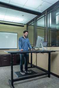 imprint cumuluspro deluxe standing desk mat