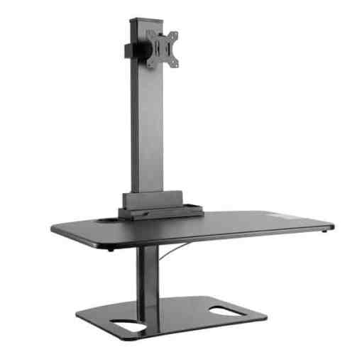 desktop riser yo yo sit stand type mini standing desk