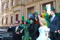 Wicked Cast with Producer John Frost