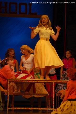 Laura Murphy (Jan), Karla Tonkich (Marty), Gretel Scarlett (Sandy) and the Female Ensemble
