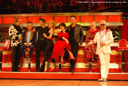 Bert Newton (Vince Fontaine), Anthony Callea (Johnny Casino), Rob Mills (Danny), Gretel Scarlett (Sandy), Lucy Maunder (Rizzo), Stephen Mahy (Kenicke), Val Lehman (Miss Lynch) and Todd McKenney (Teen Angel)