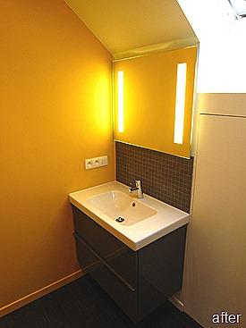 Standing Renovation Yellow Shower Room0008