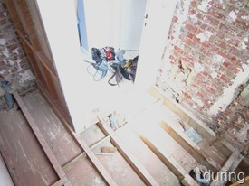 Standing Renovation Yellow Shower Room0011