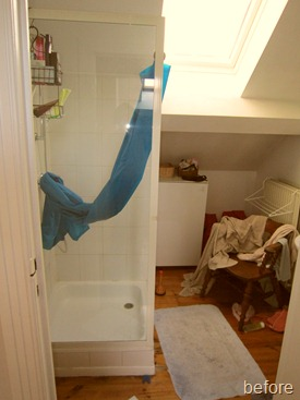 Standing Renovation Yellow Shower Room0013