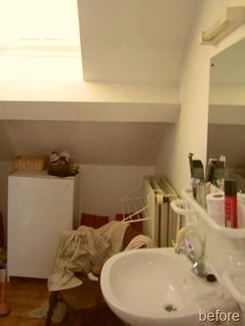 Standing Renovation Yellow Shower Room0019