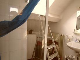 Standing Renovation Yellow Shower Room0021
