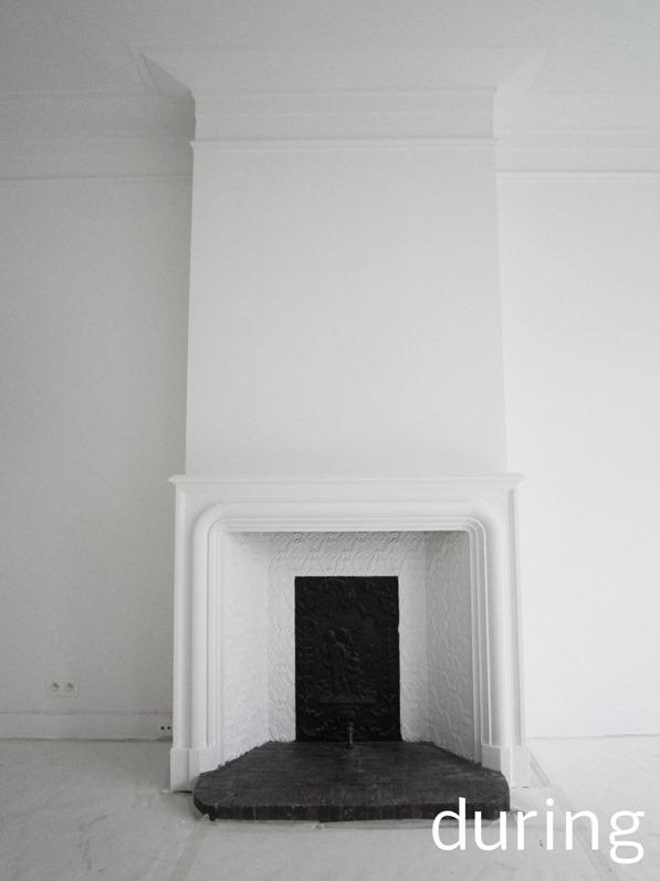white interior renovation brussels standing renovation44