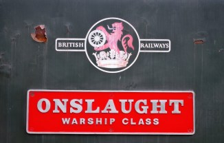 "D832 ""Onslaught"" nameplate"