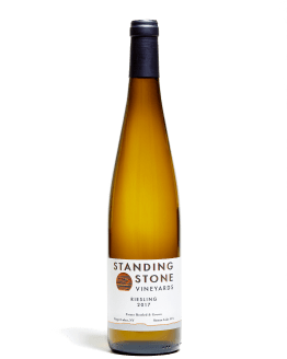 Bottle shot of Riesling 2017