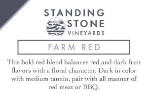 Farm Red Shelf Talker