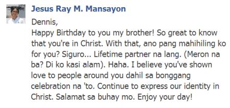 Jesus Ray M. Mansayon
