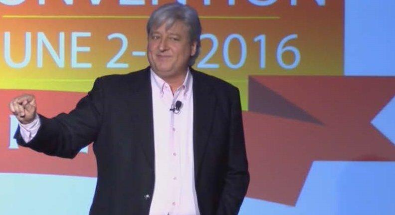 peter rosenberger as speaker