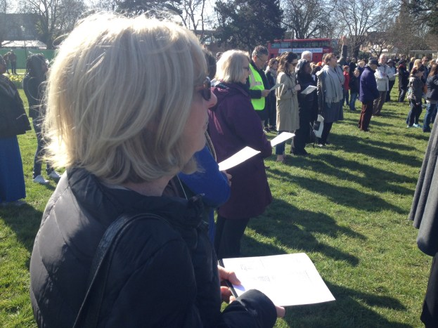 Good Friday: Haven Green singing