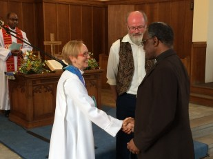 Affirmation by the Area and Synod