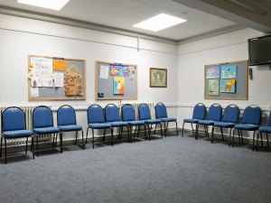 In the meeting room (3), St Andrew's Monkseaton