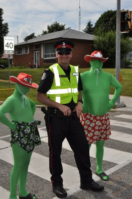 Toronto's Finest Helping Out!