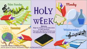 Holy Week Slide 1