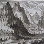 Eighteenth-century view of the Alps