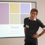 Jordan Girardin - presenting on The Alps and Alpine travel, Sep 2016