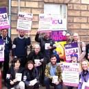 Strike action on fair pay