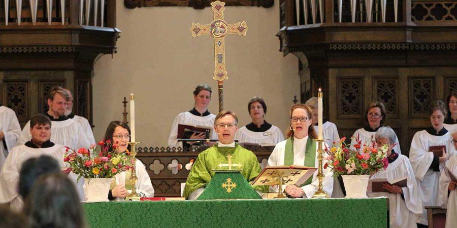 Celebration of Holy Eucharist