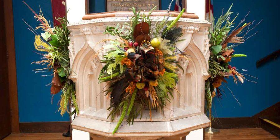 Wreaths Altar