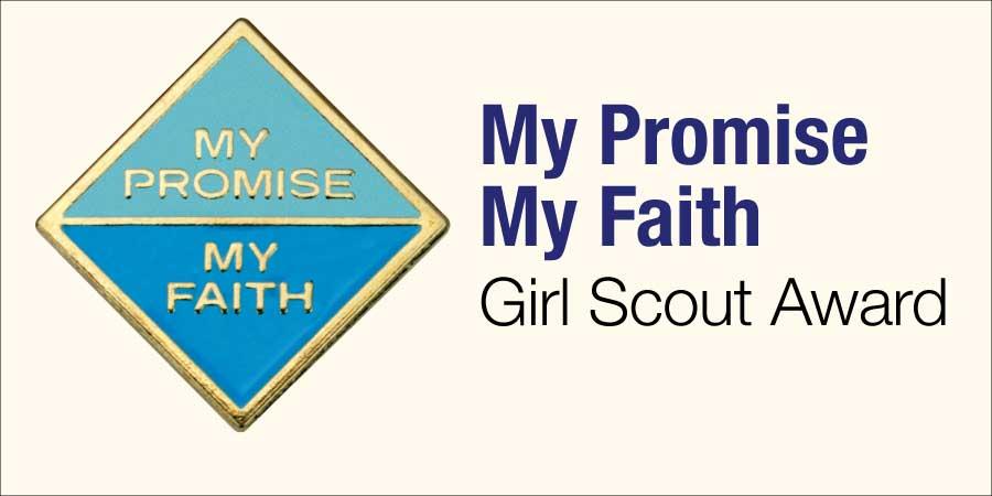 My Promise, My Faith Girl Scout Award