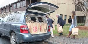 Bags to car