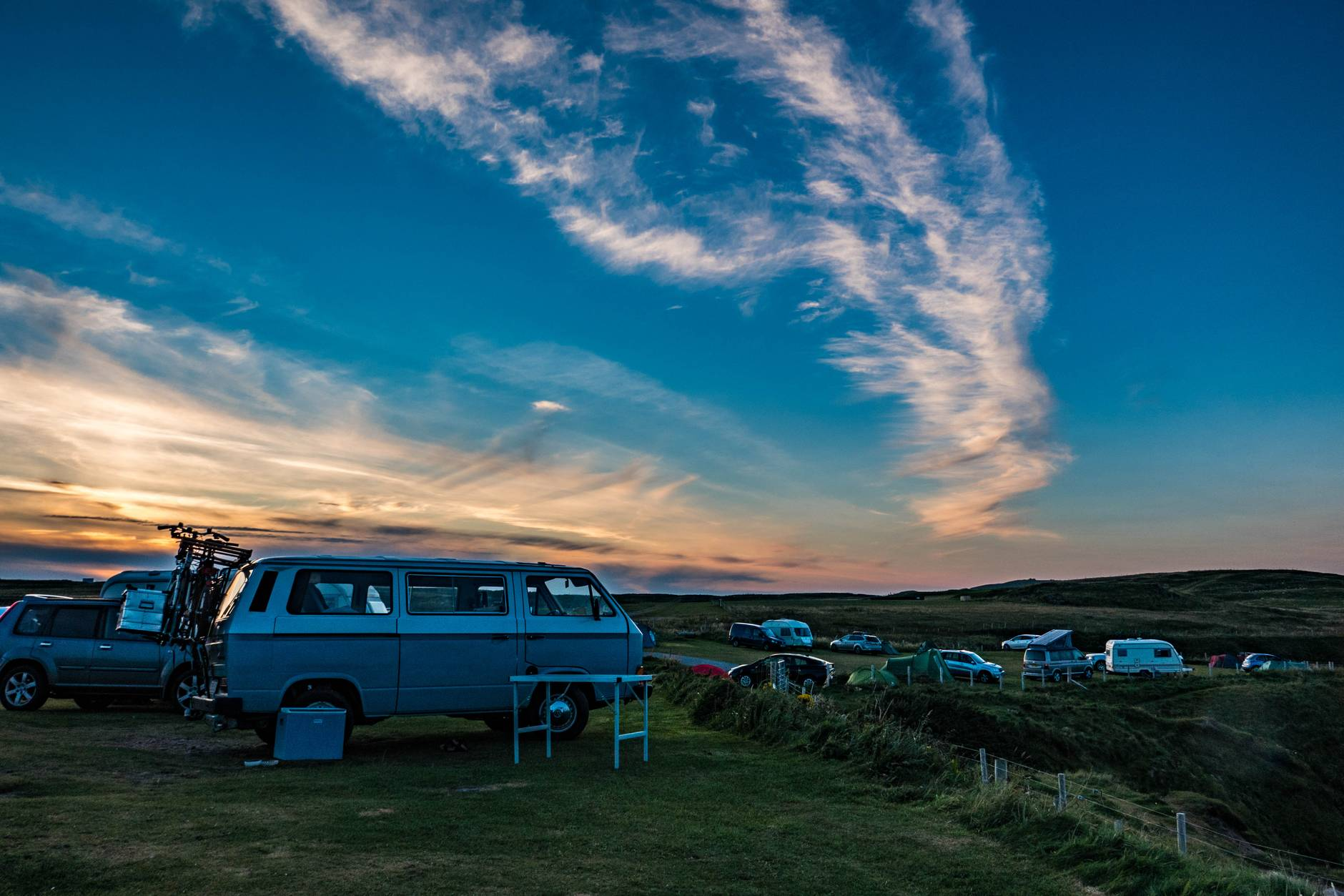 automobile campervan camping cars