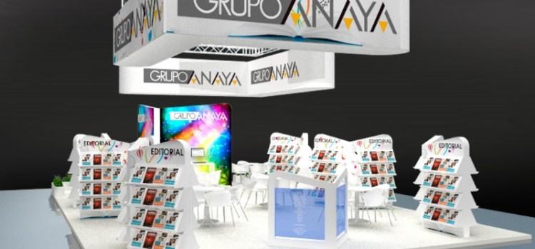 Proyecto realizado para la empresa Grupo Anaya por Stands Creativos