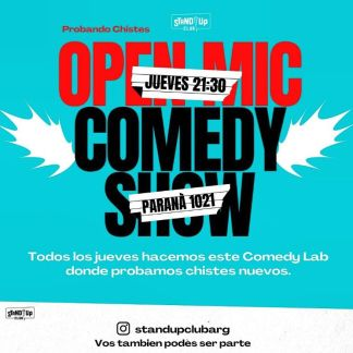 Open Mic Stand Up Club