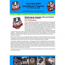 Fix-A-Bull WNY has been added to Stand Up For Pits BUFFALO!!!