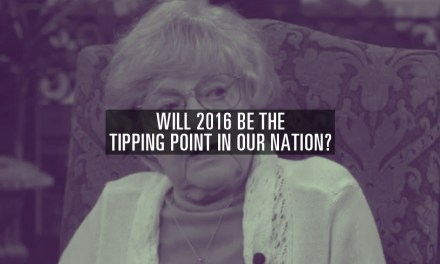 Will 2016 Be The Tipping Point in Our Nation?