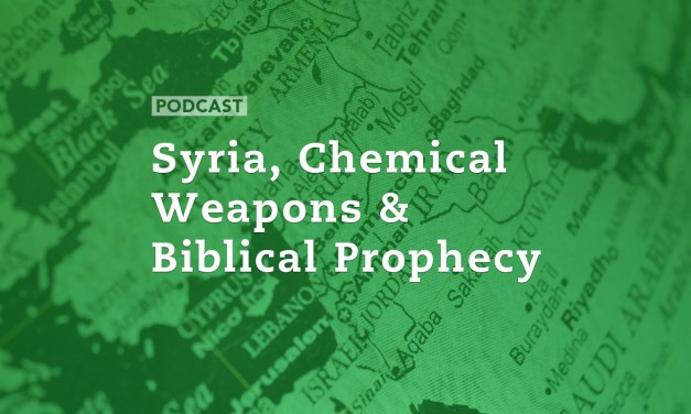 Syria, Chemical Weapons and Biblical Prophecy