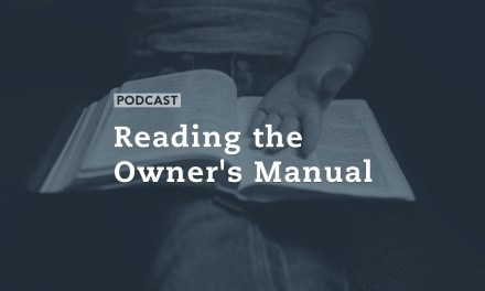 Reading the Owner's Manual