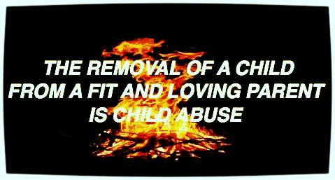 Removal of fit loving parent is child abuse - 2016
