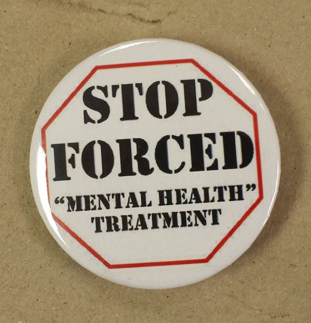 Forced Mental Health Treatment - 2015