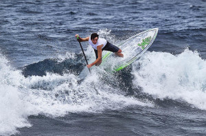 Benoit Carpentier tearing it up on his Starboard Sup