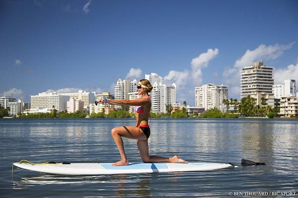 Sup Kneeling Lunge with a Twist 4