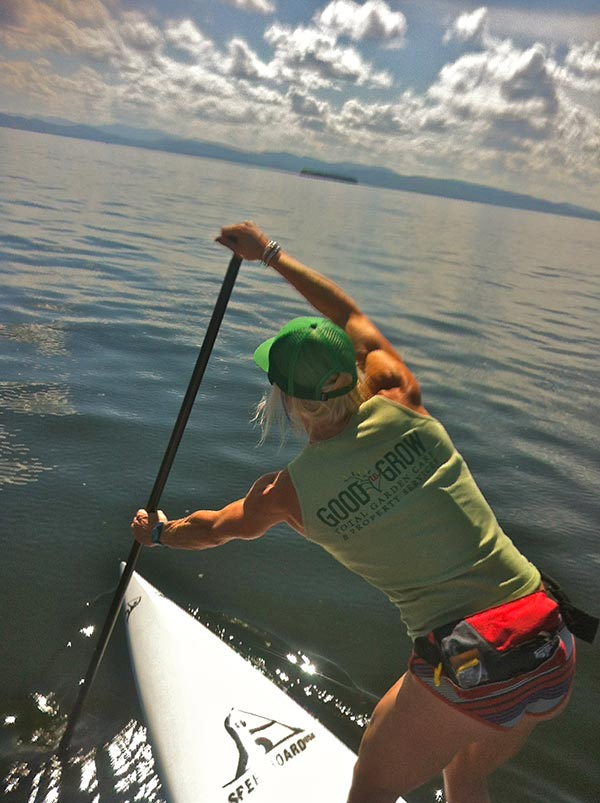 The Woman of Standup Paddling 30
