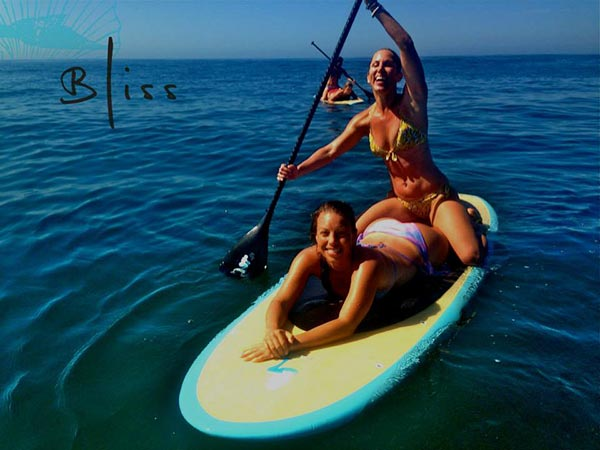 The Woman of Standup Paddling 43