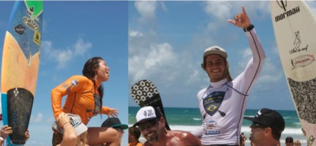 Caio Vaz & Aline Adisaka win the Brazilian Nationals in dramatic style