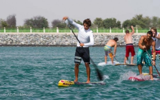 Intense racing on Day 2 of the Abu Dhabi All Stars sees Kai Lenny come out on top