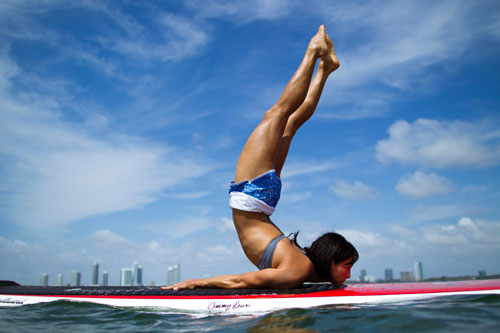 sup yoga We love us a good outdoor yoga practice