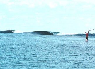 "F-One Sup Co founder Raphael Salles ""someplace in the Southern ocean""!"